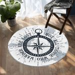 Nautical Compass DAC041242 Round Carpet