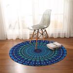 Deep Ocean Mandala DAC041260 Round Carpet