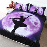 Purple Moon Ballet DAC041286 Bedding Set