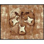 Rock And Roll Guitar DAC04129 Rug