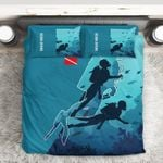 3D Scuba Diving DAC0412120 Bedding Set