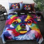 Watercolor Art Dog DAC041275 Bedding Set