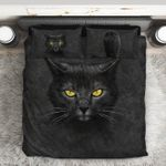 3D Black Cat DAC0412125 Bedding Set