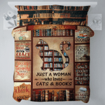 Book Cat DAC0412113 Bedding Set