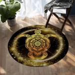 Golden Turtle DAC041251 Round Carpet