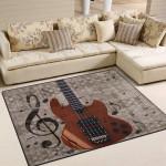 Vintage Music Guitar DAC04124 Rug
