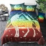 Geometric UniCorn PTC041210 Bedding Set