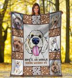 Goldendoodle MMC0512119 Fleece Blanket