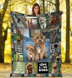 Goldendoodle MMC0512118 Fleece Blanket