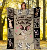 Chihuahua MMC051296 Fleece Blanket