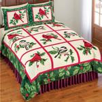 Cardinal Christmas MMC0512228 Bedding Set