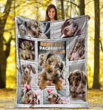 Dachshund MMC0512107 Fleece Blanket