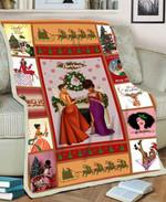 Black Girl MMC051272 Fleece Blanket