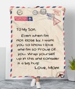To My Son MMC0512141 Fleece Blanket