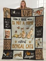 Cat MMC051294 Fleece Blanket