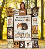 Guinea Pigs MMC0512120 Fleece Blanket