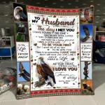 To My Husband MMC0512137 Fleece Blanket