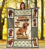 Dachshund MMC0512108 Fleece Blanket