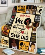 July Girl MMC0512123 Fleece Blanket