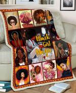 Black Girl MMC051274 Fleece Blanket
