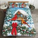 Cardinal Christmas MMC0512235 Bedding Set