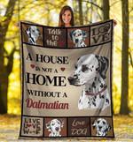 Dalmatian MMC0512111 Fleece Blanket