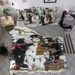 Bear And Snowman MMC0512216 Bedding Set