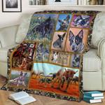 Australian Cattle MMC051254 Fleece Blanket
