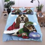 Basset Hound Christmas MMC0512211 Bedding Set