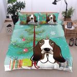 Basset Hound Christmas MMC0512212 Bedding Set