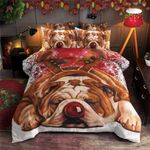 Bulldogs Christmas MMC0512221 Bedding Set