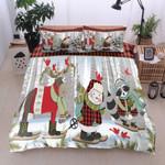 Animals Snowman Christmas MMC0512208 Bedding Set