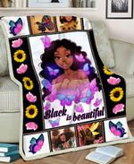 Black Girl MMC051280 Fleece Blanket