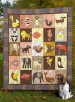 Animal MMC51223 Quilt Blanket