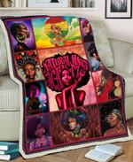 Black Girl MMC051278 Fleece Blanket
