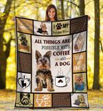 Yorkshire Terrier MMC0512144 Fleece Blanket