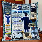 To My Son MMC0512142 Fleece Blanket