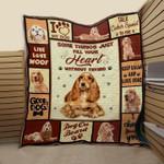 Cocker PTC051203 Quilt Blanket