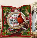 Cardinal Christmas PTC051201 Quilt Blanket