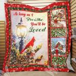 Merry Christmas Cardinal PTC051209 Quilt Blanket