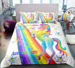 Sparkling Rainbow Unicorn DAC05126 Bedding Set