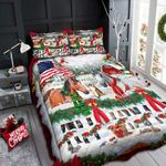 Horse Farm Christmas DPC051204 Bedding Set