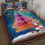 Cardinal Snowman Christmas DPC051207 Bedding Set