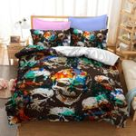 Splattered Colored Skull DTC0712611 Bedding Set