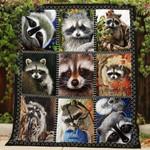 Raccoon DTC0712311 Quilt Blanket