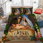 Jesus Is The Reason For The Christmas Season DTC0712633 Bedding Set