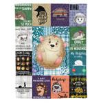 VARIOUS HEDGEHOG DTC0712402 Fleece Blanket