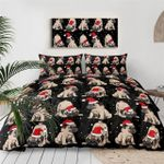 CHRISTMAS BULLDOG DTC0712659 Bedding Set