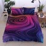 PURPLE ABSTRACT DTC0712622 Bedding Set