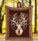 HUNTING DEER DTC0712412 Fleece Blanket